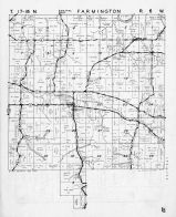 Farmington Township - Central, Burr Oak, Mindoro, La Crosse County 1954